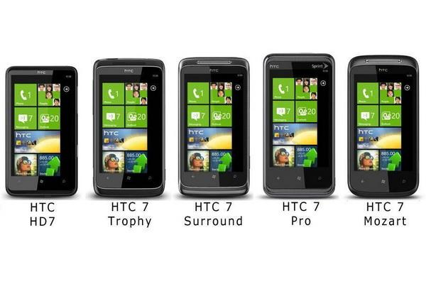 HTC Windows Phone 7 Mobile Phones