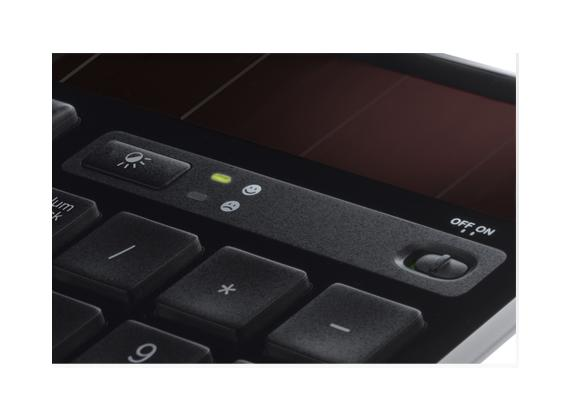 Logitech Wireless Solar Keyboard K750 Panel