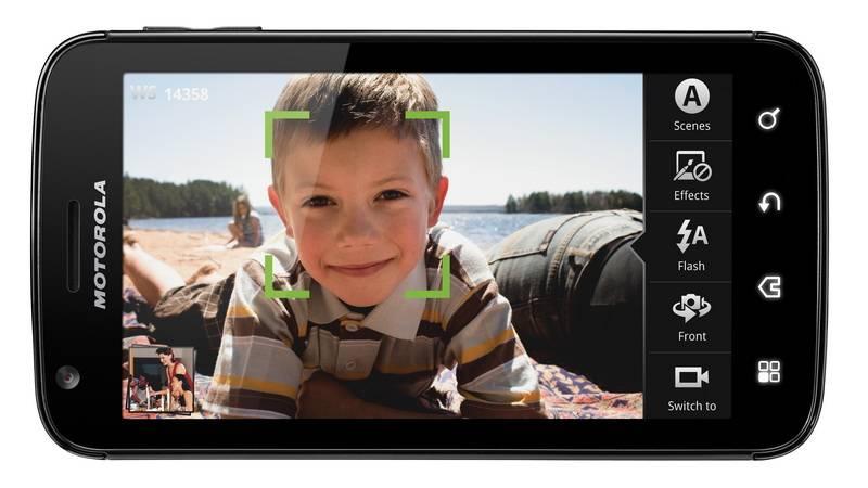Motorola ATRIX 4G Landscape