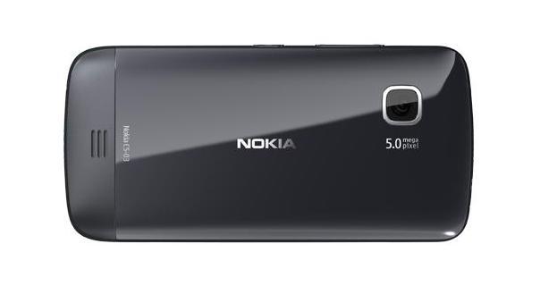 Nokia C5-03 Back