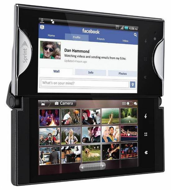 Sprint Kyocera Echo Dual Screen
