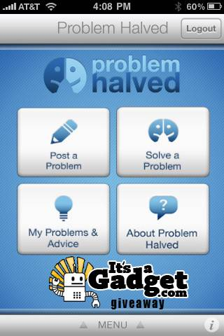 Problem Halved Giveaway