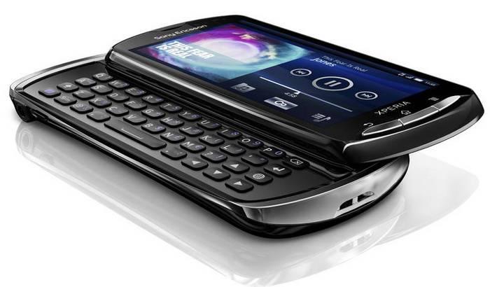 Sony Ericsson Xperia Pro QWERTY
