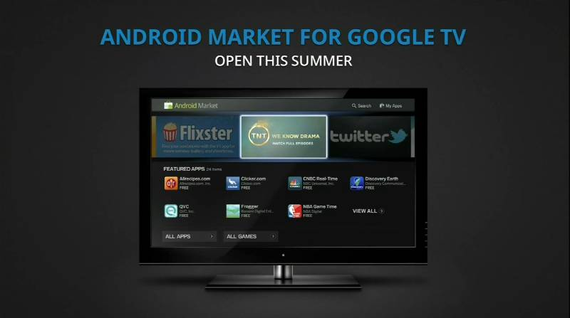 Android Honeycomb 3.1 Google TV