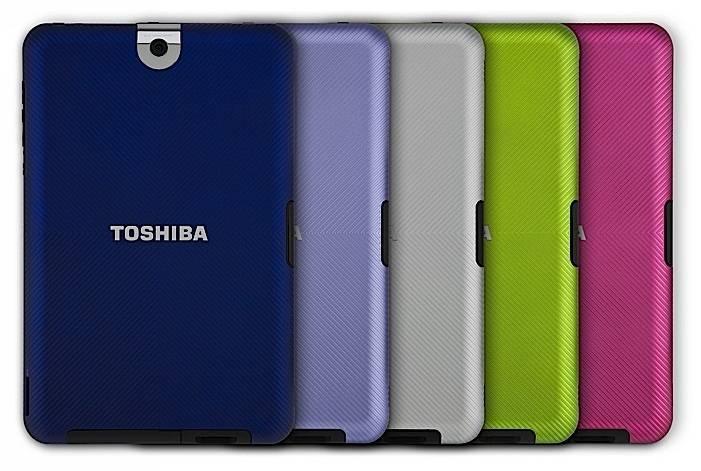 Toshiba Thrive Tablet Back