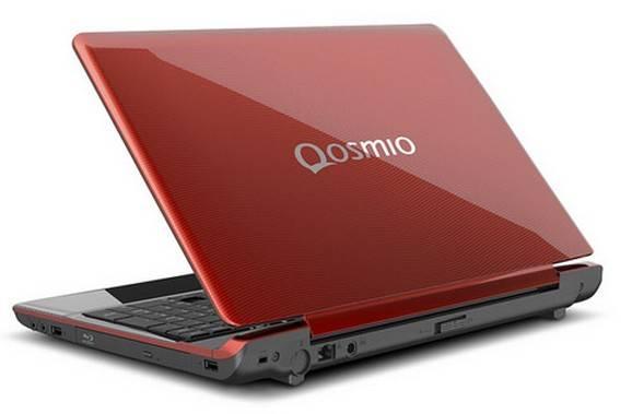 Toshiba Qosmio F755 Design