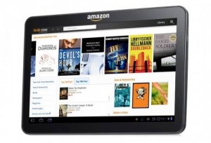 Rumoured Amazon Tablet