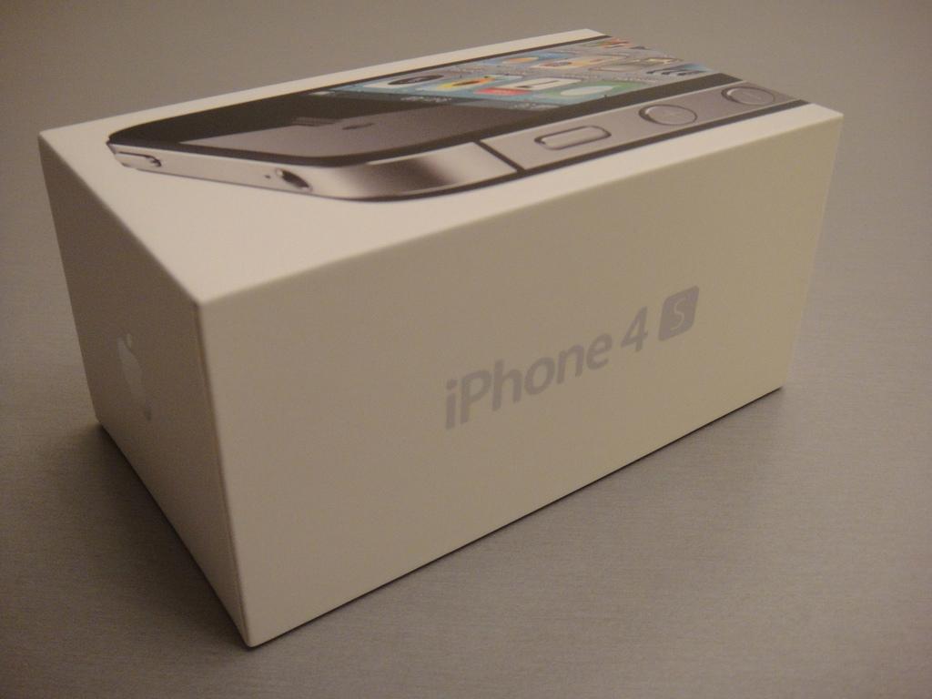 Apple iPhone 4S Box