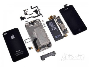 Apple iPhone 4S Components
