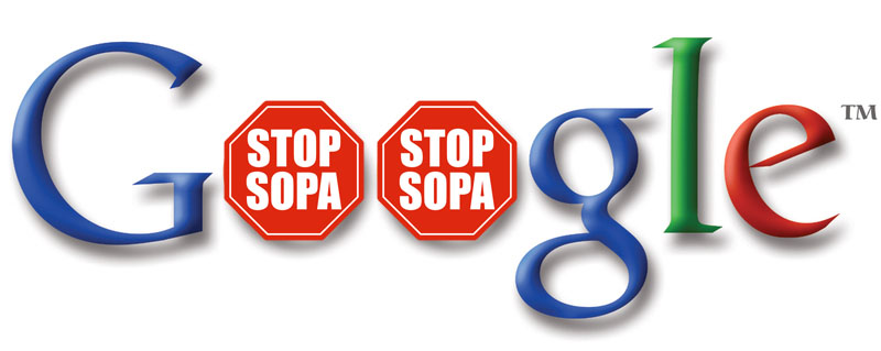 Google against SOPA
