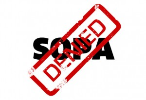 SOPA DENIED