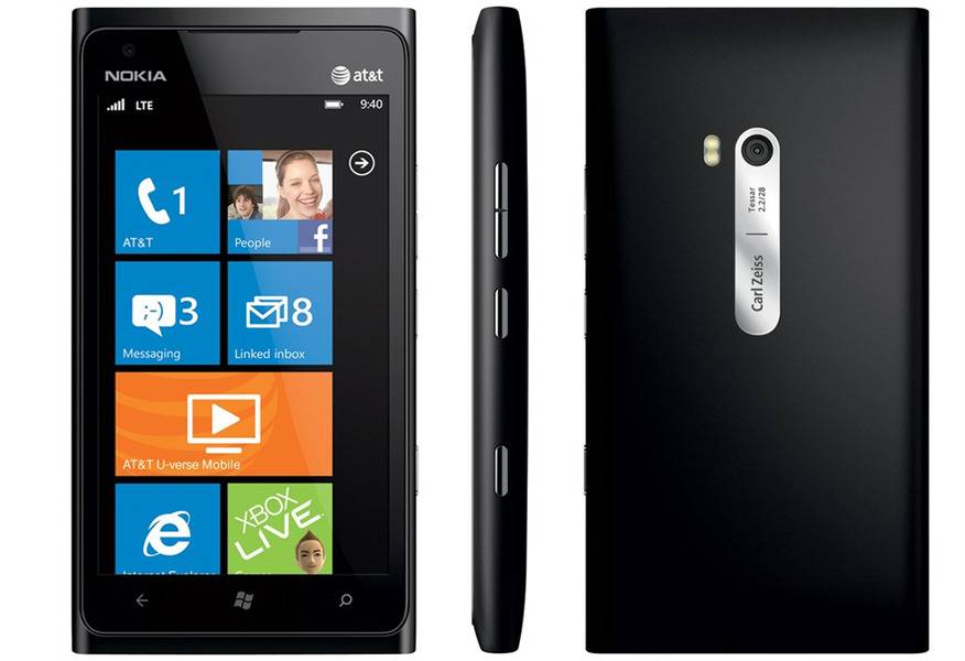 Nokia Lumia 900 Black Full