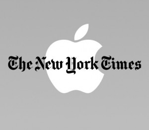 Apple and The New York Times