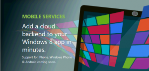 Windows Azure Mobile
